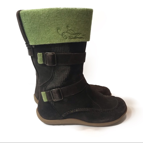 running shoes outlet offer discounts Salomon Shoes | Ruby Brown Green Winter Boots | Poshmark